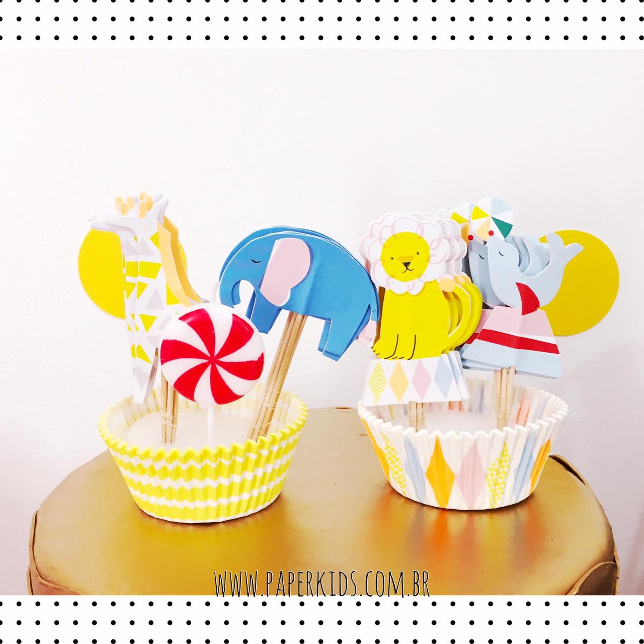 tag-cupcake-animais-circo