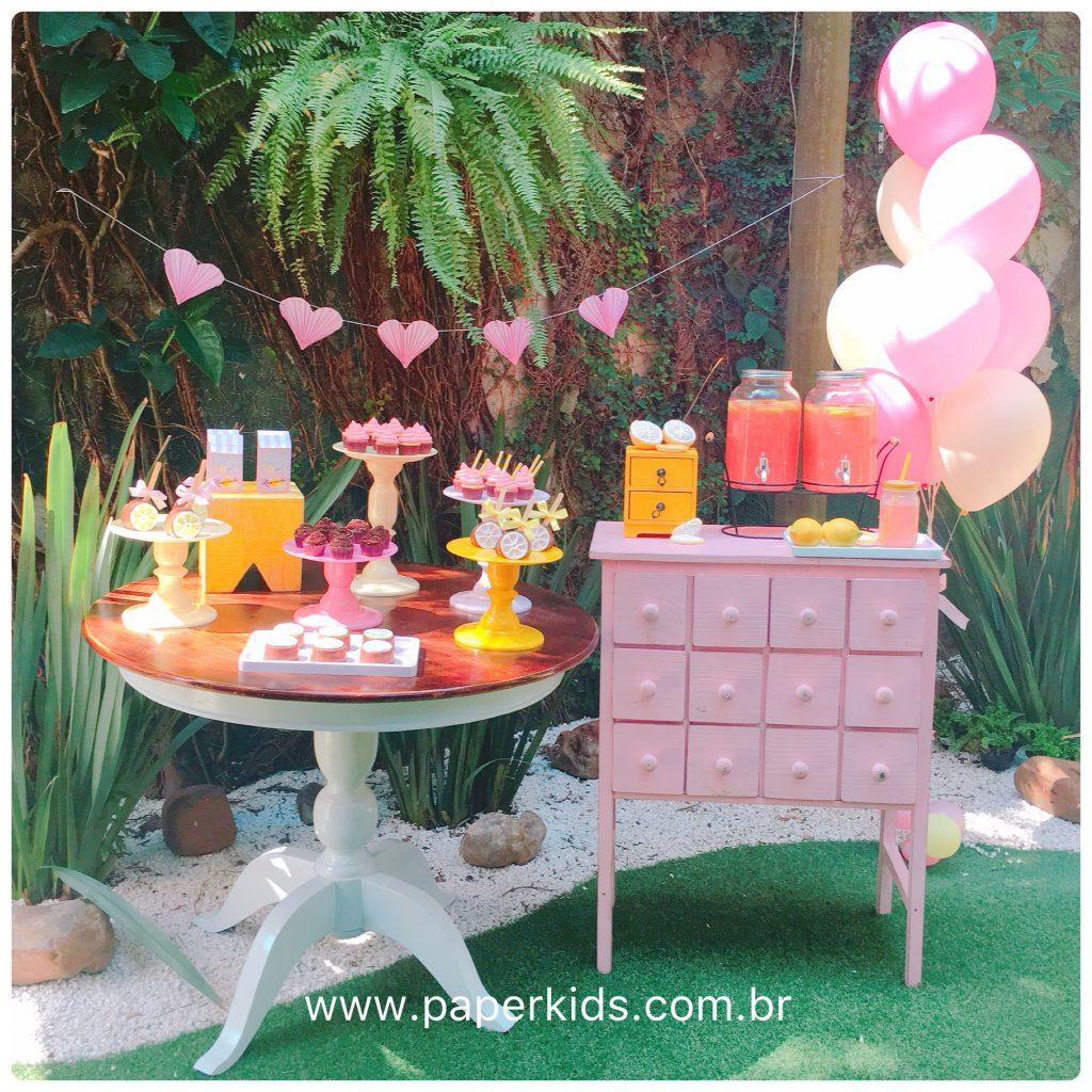 Tema Pink Lemonade