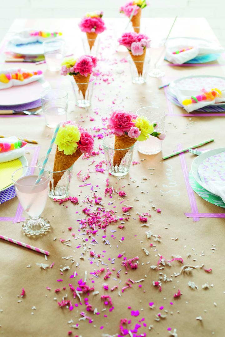 Livro de decoração de festas